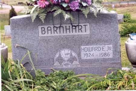 BARNHART, HOWARD E., JR. - Ross County, Ohio | HOWARD E., JR. BARNHART - Ohio Gravestone Photos