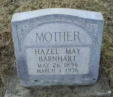MAY BARNHART, HAZEL - Ross County, Ohio | HAZEL MAY BARNHART - Ohio Gravestone Photos
