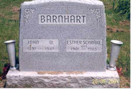 BARNHART, ESTHER - Ross County, Ohio | ESTHER BARNHART - Ohio Gravestone Photos