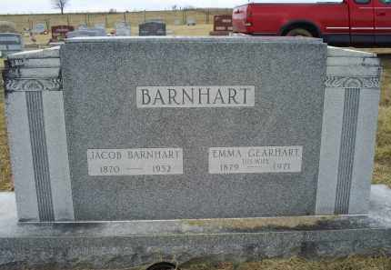 BARNHART, EMMA - Ross County, Ohio | EMMA BARNHART - Ohio Gravestone Photos