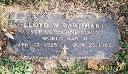 BARNHART, LLOYD W.. - Ross County, Ohio | LLOYD W.. BARNHART - Ohio Gravestone Photos
