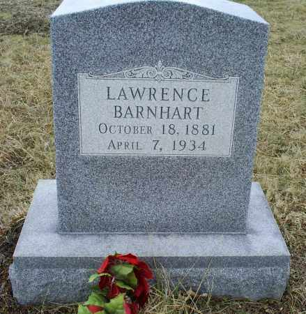 BARNHART, LAWRENCE - Ross County, Ohio | LAWRENCE BARNHART - Ohio Gravestone Photos