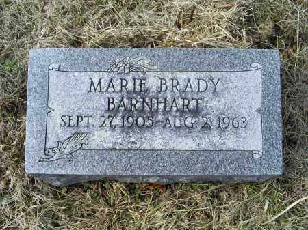 BARNHART, MARIE - Ross County, Ohio | MARIE BARNHART - Ohio Gravestone Photos