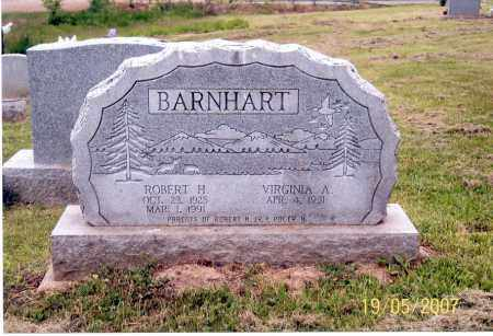 BARNHART, VIRGINIA A. - Ross County, Ohio | VIRGINIA A. BARNHART - Ohio Gravestone Photos