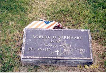 BARNHART, ROBERT H. - Ross County, Ohio | ROBERT H. BARNHART - Ohio Gravestone Photos