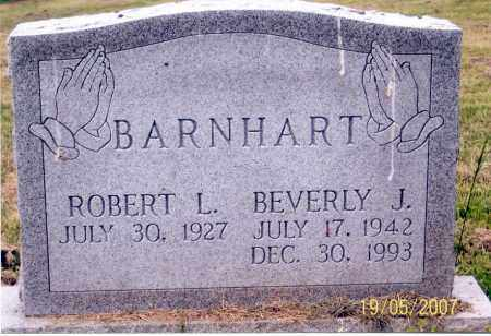 BARNHART, ROBERT L. - Ross County, Ohio | ROBERT L. BARNHART - Ohio Gravestone Photos