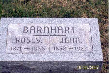 BARNHART, ROSEY - Ross County, Ohio | ROSEY BARNHART - Ohio Gravestone Photos