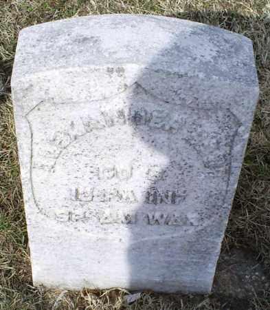 BARR, ALEXANDER - Ross County, Ohio | ALEXANDER BARR - Ohio Gravestone Photos