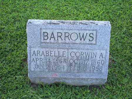 BARROWS, CORWIN A. - Ross County, Ohio | CORWIN A. BARROWS - Ohio Gravestone Photos