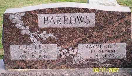 BARROWS, CARLENE J. - Ross County, Ohio | CARLENE J. BARROWS - Ohio Gravestone Photos