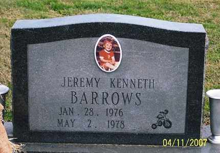 BARROWS, JEREMY KENNETH - Ross County, Ohio | JEREMY KENNETH BARROWS - Ohio Gravestone Photos