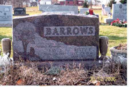 BARROWS, RAY J. - Ross County, Ohio | RAY J. BARROWS - Ohio Gravestone Photos