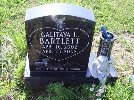 BARTLETT, GALITAYA L. - Ross County, Ohio | GALITAYA L. BARTLETT - Ohio Gravestone Photos
