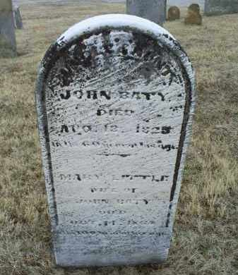 LITTLE BATY, MARY - Ross County, Ohio | MARY LITTLE BATY - Ohio Gravestone Photos