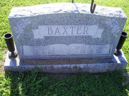 BAXTER, JEFFERSON D. - Ross County, Ohio | JEFFERSON D. BAXTER - Ohio Gravestone Photos