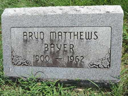 BAYER, ARVO - Ross County, Ohio | ARVO BAYER - Ohio Gravestone Photos