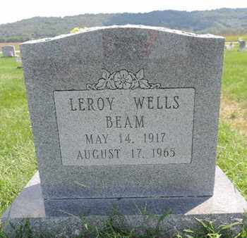 BEAM, LEROY WELLS - Ross County, Ohio | LEROY WELLS BEAM - Ohio Gravestone Photos