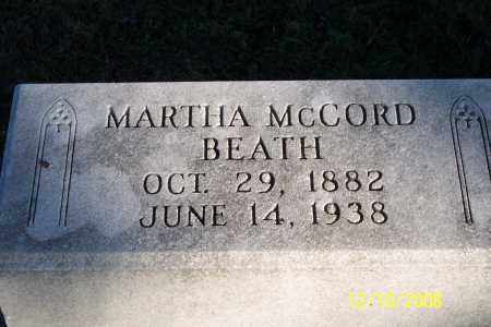 BEATH, MARTHA - Ross County, Ohio | MARTHA BEATH - Ohio Gravestone Photos