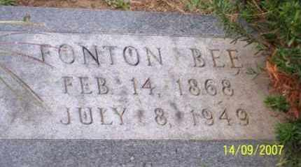 BEE, FONTON - Ross County, Ohio | FONTON BEE - Ohio Gravestone Photos