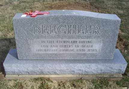 BEECHLER, MONUMENT - Ross County, Ohio | MONUMENT BEECHLER - Ohio Gravestone Photos