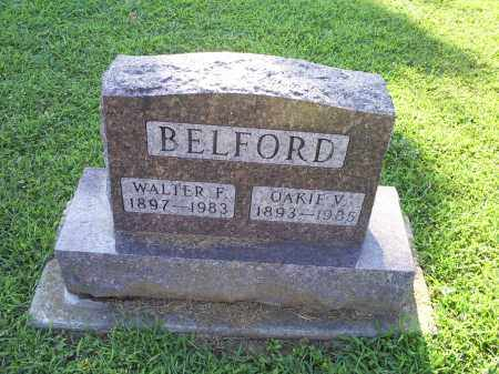 BELFORD, WALTER F. - Ross County, Ohio | WALTER F. BELFORD - Ohio Gravestone Photos