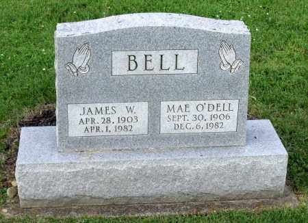 BELL, JAMES W. - Ross County, Ohio | JAMES W. BELL - Ohio Gravestone Photos