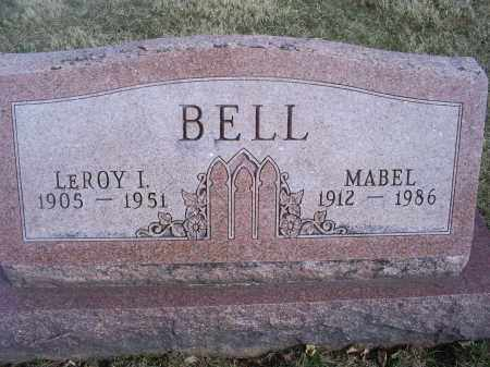 BELL, LEROY I. - Ross County, Ohio | LEROY I. BELL - Ohio Gravestone Photos