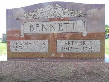 BENNTT, ARTHUR F. - Ross County, Ohio | ARTHUR F. BENNTT - Ohio Gravestone Photos