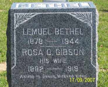 BETHEL, ROSA O. - Ross County, Ohio | ROSA O. BETHEL - Ohio Gravestone Photos
