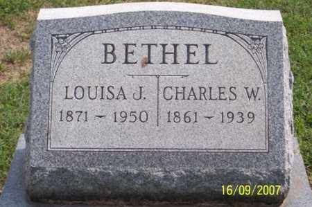 BETHEL, LOUISA J. - Ross County, Ohio | LOUISA J. BETHEL - Ohio Gravestone Photos