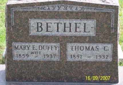 DUFFY BETHEL, MARY E. - Ross County, Ohio | MARY E. DUFFY BETHEL - Ohio Gravestone Photos