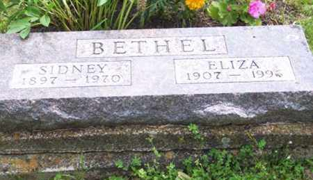 BETHEL, ELIZA - Ross County, Ohio | ELIZA BETHEL - Ohio Gravestone Photos