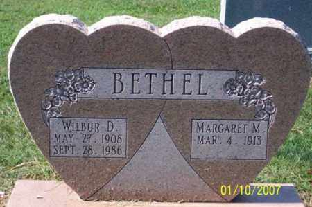 BETHEL, WILBUR D. - Ross County, Ohio | WILBUR D. BETHEL - Ohio Gravestone Photos