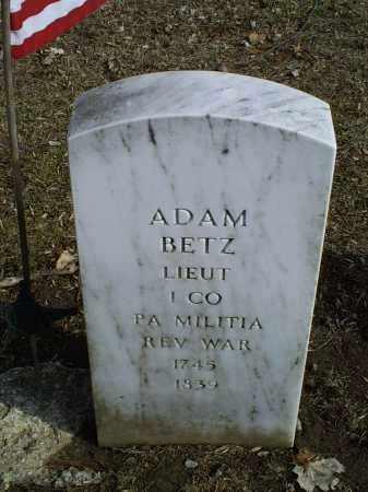 BETZ, ADAM - Ross County, Ohio | ADAM BETZ - Ohio Gravestone Photos