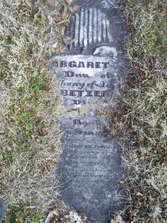 BETZER, MARGARET J. - Ross County, Ohio | MARGARET J. BETZER - Ohio Gravestone Photos