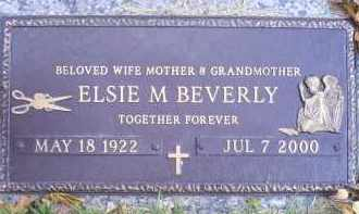 BEVERLY, ELSIE M. - Ross County, Ohio | ELSIE M. BEVERLY - Ohio Gravestone Photos