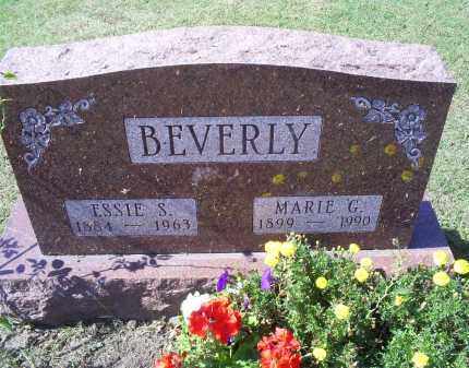 BEVERLY, ESSIE S. - Ross County, Ohio | ESSIE S. BEVERLY - Ohio Gravestone Photos