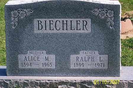 BIECHLER, ALICE M. - Ross County, Ohio | ALICE M. BIECHLER - Ohio Gravestone Photos