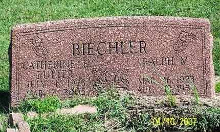 RUTTER BIECHLER, CATHERINE E. - Ross County, Ohio | CATHERINE E. RUTTER BIECHLER - Ohio Gravestone Photos