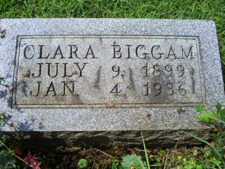 BIGGAM, CLARA - Ross County, Ohio | CLARA BIGGAM - Ohio Gravestone Photos
