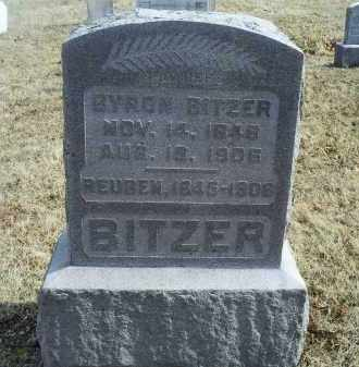 BITZER, REUBEN - Ross County, Ohio | REUBEN BITZER - Ohio Gravestone Photos