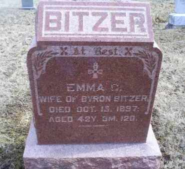 BITZER, EMMA C. - Ross County, Ohio | EMMA C. BITZER - Ohio Gravestone Photos