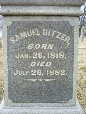 BITZER, SAMUEL - Ross County, Ohio | SAMUEL BITZER - Ohio Gravestone Photos