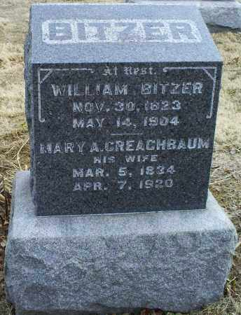 CREACHBAUM BITZER, MARY A. - Ross County, Ohio | MARY A. CREACHBAUM BITZER - Ohio Gravestone Photos