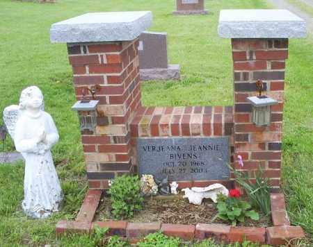BIVENS, VERJEANA JEANNIE - Ross County, Ohio | VERJEANA JEANNIE BIVENS - Ohio Gravestone Photos