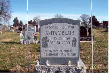 BLAIR, ARITA V. - Ross County, Ohio | ARITA V. BLAIR - Ohio Gravestone Photos