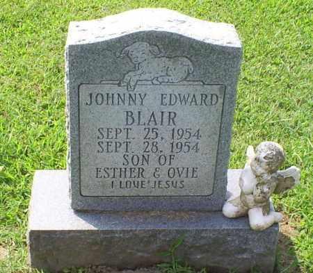 BLAIR, JOHNNY EDWARD - Ross County, Ohio | JOHNNY EDWARD BLAIR - Ohio Gravestone Photos