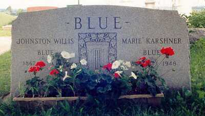 KARSHNER BLUE, MARIE - Ross County, Ohio | MARIE KARSHNER BLUE - Ohio Gravestone Photos