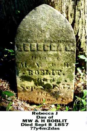 BOBLIT, REBECCA J - Ross County, Ohio | REBECCA J BOBLIT - Ohio Gravestone Photos