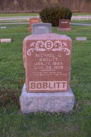 BOBLITT, MICHAEL J. - Ross County, Ohio | MICHAEL J. BOBLITT - Ohio Gravestone Photos